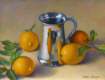 Fine Art by Peter Brown: The Silver Tankard