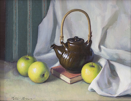 Fine Art by Peter Brown: Still Life with Teapot